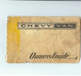 <font color=red>1965 Chevrolet G10 Van</font> Owners Manual